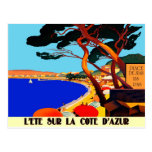 Vintage Cote D'Azur French Travel