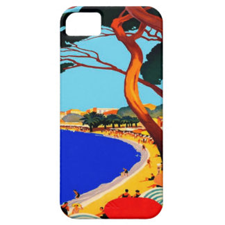 Vintage Cote D'Azur French Travel iPhone 5 Cover