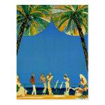 Vintage Cote D'Azur French Travel Postcard