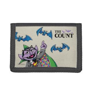 Vintage Count von Count Tri-fold Wallet