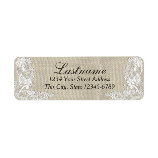 Vintage Country Floral Lace