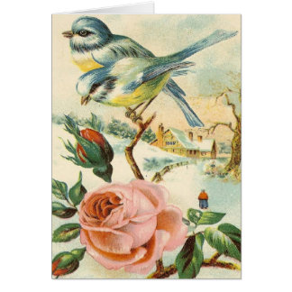 Vintage Country Scene All Occasions Greeting Card