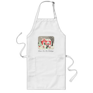 Vintage Countryside Greetings Apron