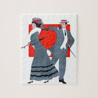 Vintage couple puzzles