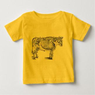 Vintage Cow Skeleton Baby T-Shirt
