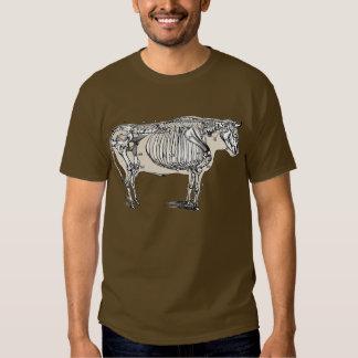 Vintage Cow Skeleton Shirt