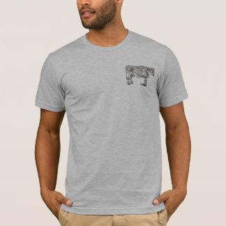Vintage Cow Skeleton T-Shirt