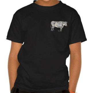 Vintage Cow Skeleton Shirts
