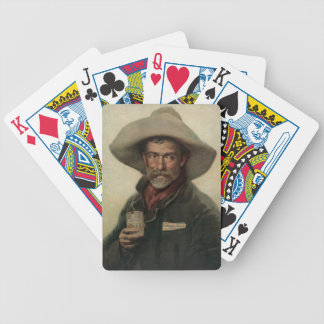 Vintage Cowboy Beer Ad Litho Playing Cards