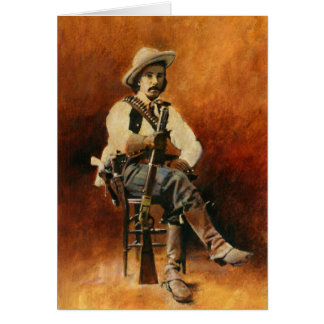 Vintage Cowboy Greetings Card