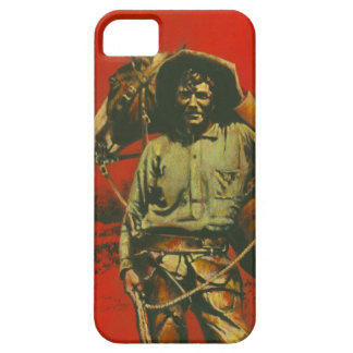 Vintage Cowboy iPhone 5 Case-mate Barely There