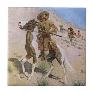 Vintage Cowboy, The Scout by Remington Tile