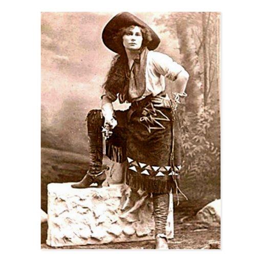 Vintage Cowboys 21 Postcard
