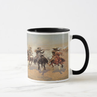 Vintage Cowboys, A Dash For Timber by Remington
