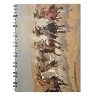Vintage Cowboys, A Dash For Timber by Remington Note Books