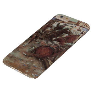 Vintage Cowboys, In Without Knocking by CM Russell Barely There iPhone 6 Plus Case