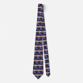 Vintage Cowboys, Man and Woman on Horses, Anderson Tie