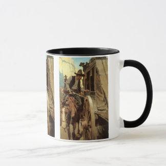 Vintage Cowboys, The Admirable Outlaw by NC Wyeth Mug