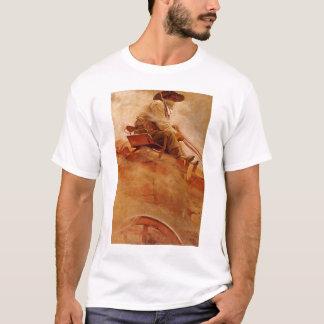 Vintage Cowboys, The Ore Wagon by NC Wyeth T-Shirt