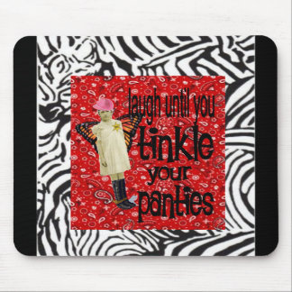Vintage Cowgirl Chic Mouse Mat