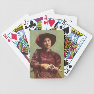 Vintage Cowgirl Playing Cards
