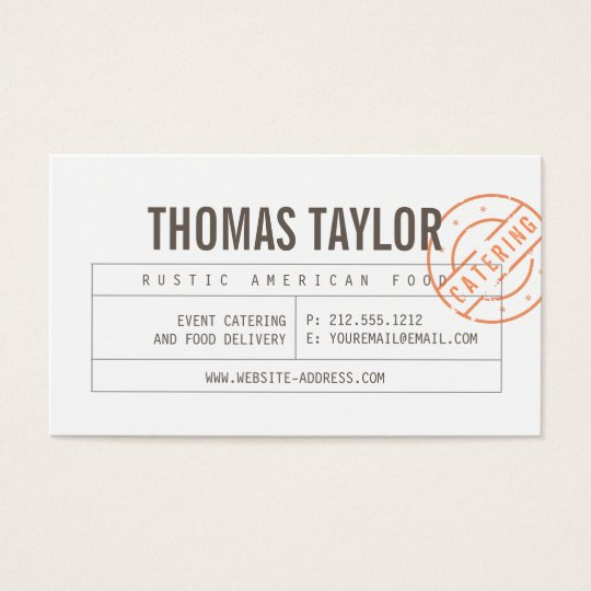 Vintage Craft Rustic Modern II Business Card