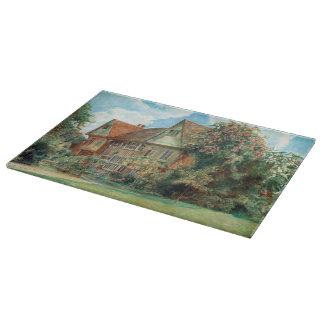 Vintage Cranbrook Kent Cottage Cutting Board