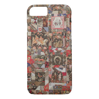 Vintage Crazy Abstract Colorful Quilt Pattern iPhone 8/7 Case