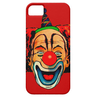 Vintage Crazy Clown Barely There iPhone 5 Case