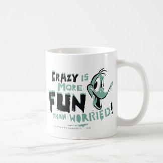 Vintage Crazy DAFFY DUCK™ Basic White Mug