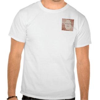 Vintage Cream and Cinnamon Filigree Scroll Shirts