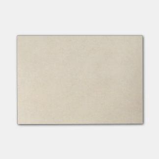 Vintage Cream Parchment Antique Paper Post-it Notes