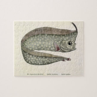 Vintage Crested Oarfish Fish, Marine Aquatic Life Jigsaw Puzzle