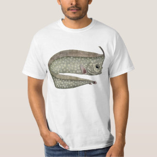 Vintage Crested Oarfish Fish, Marine Aquatic Life T-Shirt