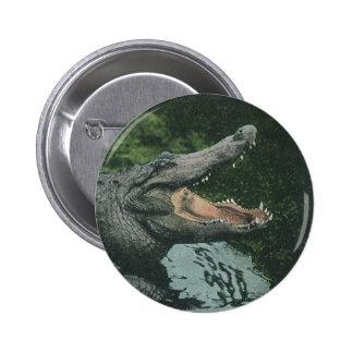 Vintage Crocodile, Marine Animal Life Reptile Buttons