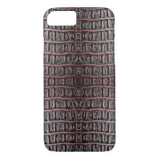 Vintage crocodile skin iPhone 8/7 case