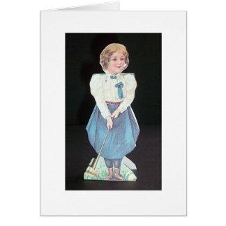 Vintage Croquet - Wellesley College Greeting Card