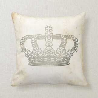 Vintage Crown Cushion