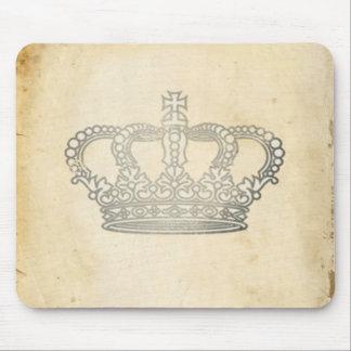 Vintage Crown Mouse Mat