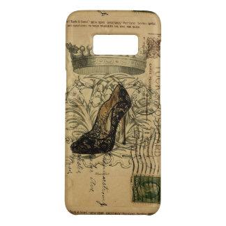 vintage crown paris fashion queen Stiletto Case-Mate Samsung Galaxy S8 Case