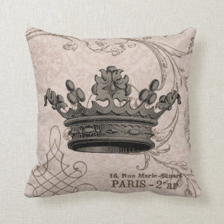 Vintage Crown...pillow Cushion