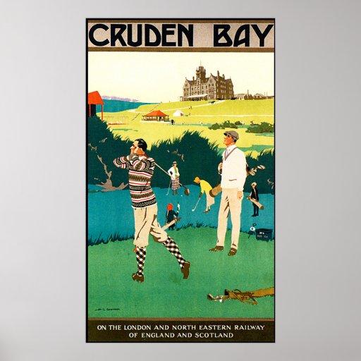 Vintage Cruden Bay Golf Club Print