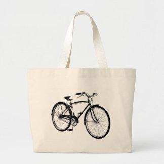 Vintage Cruiser Bike Jumbo Tote Bag
