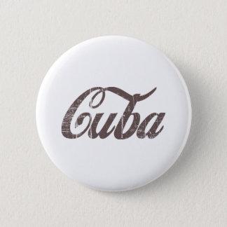 Vintage Cuba 6 Cm Round Badge