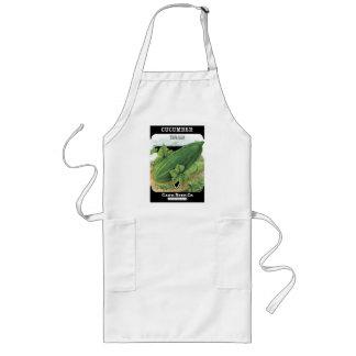 Vintage Cucumber Seed Packet Apron