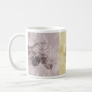 Vintage Cup with watches - M1 Coffee Mugs