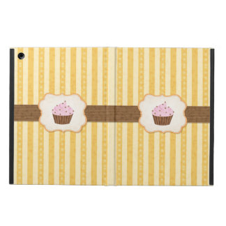 Vintage Cupcake Background Cover For iPad Air
