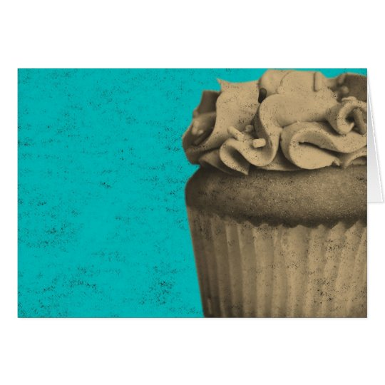 Vintage Cupcake Card