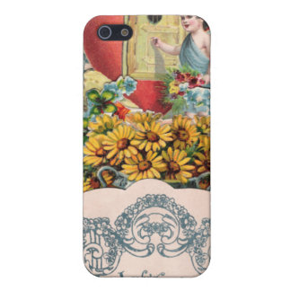 Vintage Cupid Illustration iPhone 5 Cover