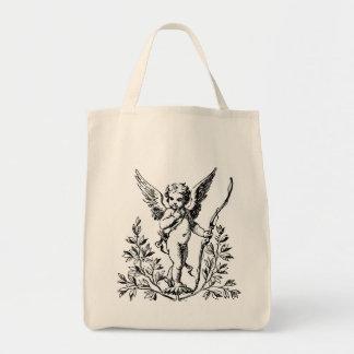 Vintage Cupid tote bag